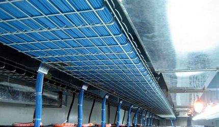 Cable Tray Also Named Wire Mesh Cable Tray Basket Cable