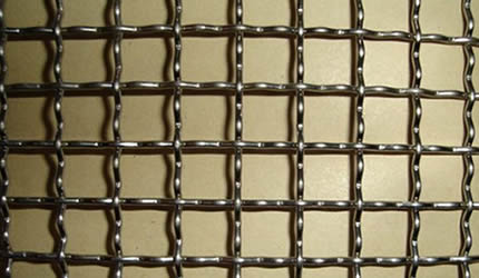 Stainless steel woven mesh also called stainless crimped mesh ...